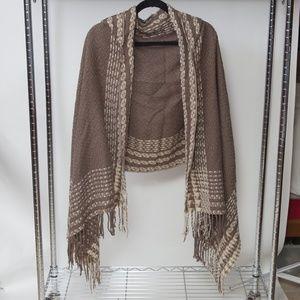 Free People knit Shrug
